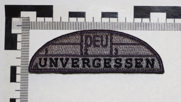 Patch #1 BW1 UNVERGESSEN